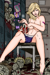 It's Zombie Wompin Time by Blackmoonrose13