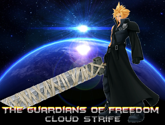 TGoF Poster 315: Cloud Strife by WOLFBLADE111