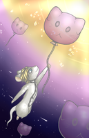 Tfm Mouse Holding balloon Redraw by Xhibli