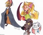 Sunday doodles by Stray-Sketches