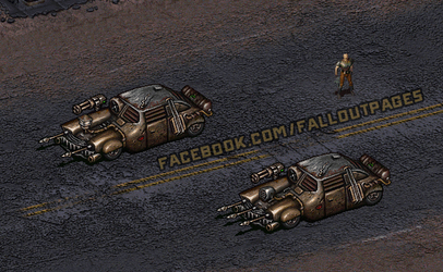 Cars in Fallout by AbyssalCerebrant