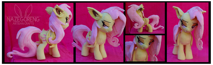 Flutterbat Custom Plush by Nazegoreng