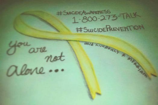 Suicide Awareness by MLArtistry