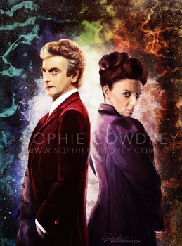 Twelve and Missy by sophiecowdrey