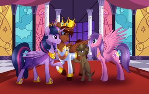 The Royal Family of Light - Commission by NiviMonster
