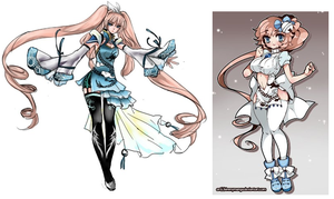 Maeyin's Outfits - Unfinished by Maeyin