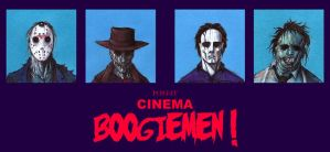 POST IT CINEMA BOOGIEMEN by QuinteroART