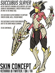 Succubus Slayer (Widowmaker Skin Concept) by Vethrax