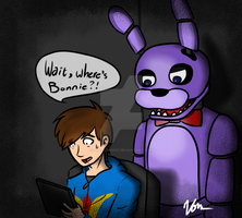 Where's Bonnie? by TheSilverPie