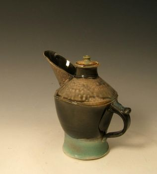 Small Pitcher with Lid by ThatDirtyKid