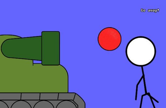 Super Awesome Tank Ball by AxelHummerwibble