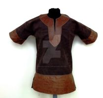 Leather Tunic by RobynGoodfellow