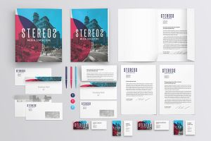 Branding / Identity Mockup by Itembridge