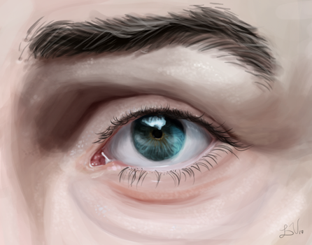 Eye Painting by Just-Joeying