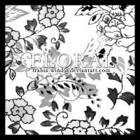 ps brushes - floral by trabia-wind