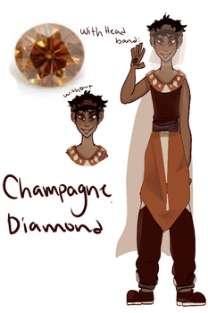 Champagne Diamond by Kopops