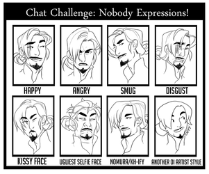 OI: Chat Challenge - Expressions by hyperionwitch