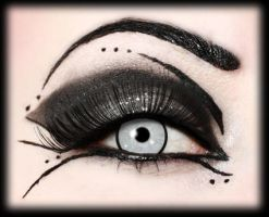 Prom makeup for goths by aurelia87