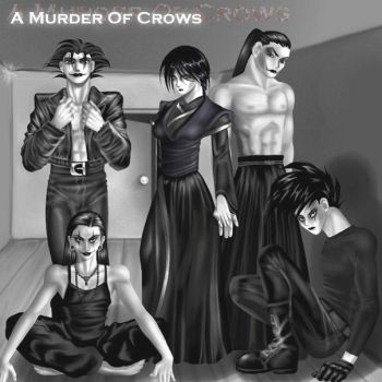 A Murder Of Crows by abbey1normal