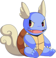 Wartortle by HappyCrumble