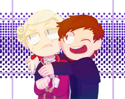 why am i shipping a king and a bishop oh my god by MagicLama