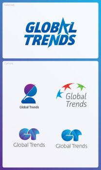 Global Trends Logo by chathurank
