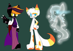 Halloween Adopts Open by SpaazleDazzle