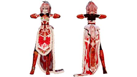 Model DL - TDA Winter Chinese Dress Teto by elina002