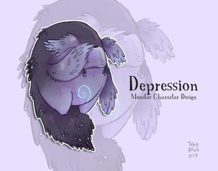 Depression by ZestyDoesThings