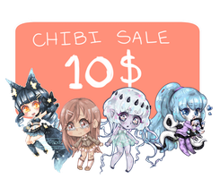 Limited Time Sale! | Chibi Commissions | [CLOSED] by SushiGoddess