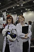 Portal Scientists- London MCM Expo 2011 by Alone-In-This-Bed