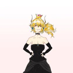 Bowsette by VoonYaoTeck23