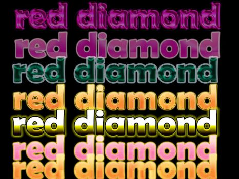 Red Diamond Styles by richessmile