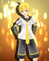 .:Tda Len Kagamine V4x:. Download by VenusSempai