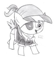 Pipsqueak the Pirate by DrChrisman