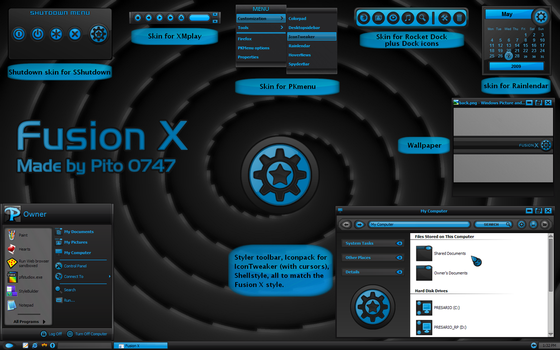 Fusion X for XP by pito0747