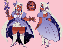 Magical Girl Design? by Dolly-Button