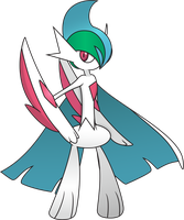 Mega Gallade by Shortyvoir