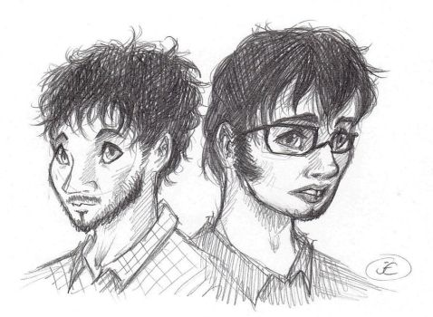 Flight of the Conchords by Mistress-D