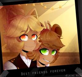 Best friends forever [FNaC] by Elaine-wolf