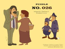 Puzzle 026 - Inspector Chelmey's Greatest Love by nattherat