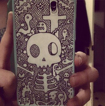 Phone Case by shinigamixandie