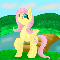 Fluttershy by Flamelight-Dash