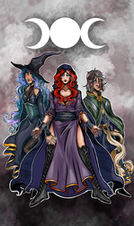 White Witch Coven by A.E. Short by WebWarlock