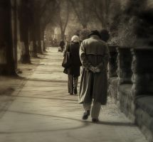 In the fog of loneliness .. by BiBiARTs