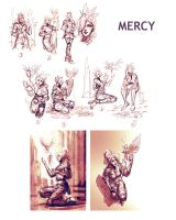 Mercy sketches by saint-max