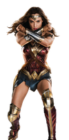 Justice League Wonder Woman DCEU PNG by Metropolis-Hero1125