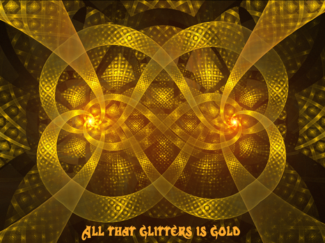 All that glitters is gold by moforuss