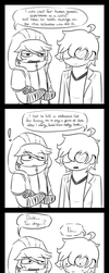 [GoD/P5] Generic Protagonists by rcKEY