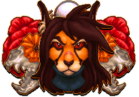 [C] 00blackberry00 mirrored pixel portrait by Shalmons